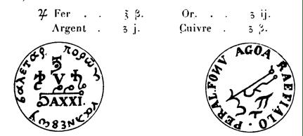 Les Sceaux des Douze Signes du Zodiaque sceaux 12 signes 02