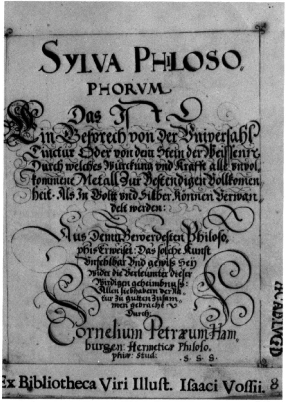 Sylva Philosophorum 01