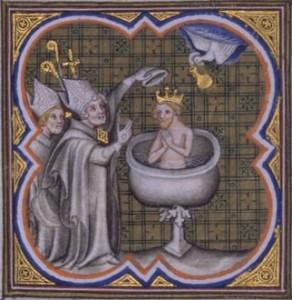 Baptême de Clovis