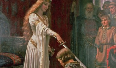 Rituel de bénédiction du nouveau chevalier