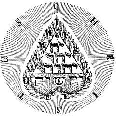 Boehme heart Yeheshuah - Le Pentagrammaton