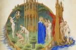 Le jardin d'Eden, Très Riches Heures du duc de Berry.
