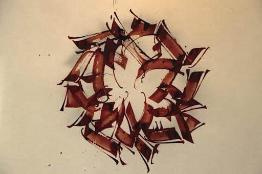 Calligraphie 8 Michel D'Anastasio.