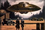 Nazi Flying Saucer, Jim Nichols