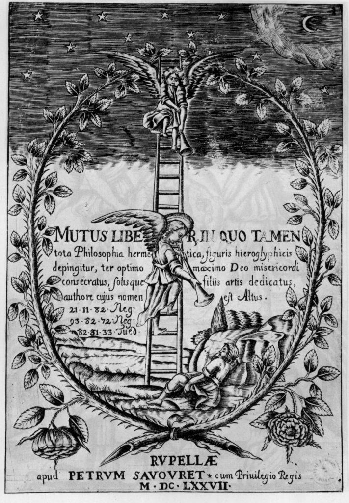 Mutus Liber, in quo tamen tota