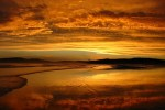 Sunsest at Samurai Beach NSW Australia. Photographie par Warrenlead69, 2004.