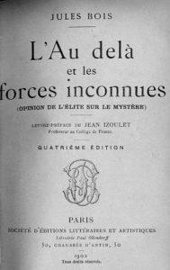 L'Au-delà et les forces inconnues