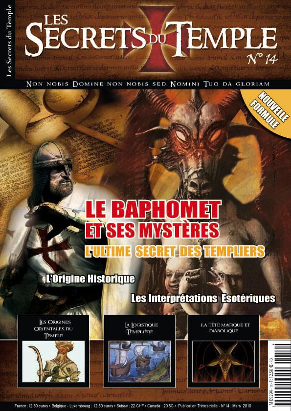 Les Secrets du Temple, couverture du n° 14