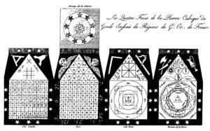 Illustration des alphabets de l'Arche Royale - Chereau.