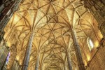 Nef de l'église Santa Maria. Monastère des Hiéronymites, Lisbonne, XVIe. Photographie par Bert K., 2009.
