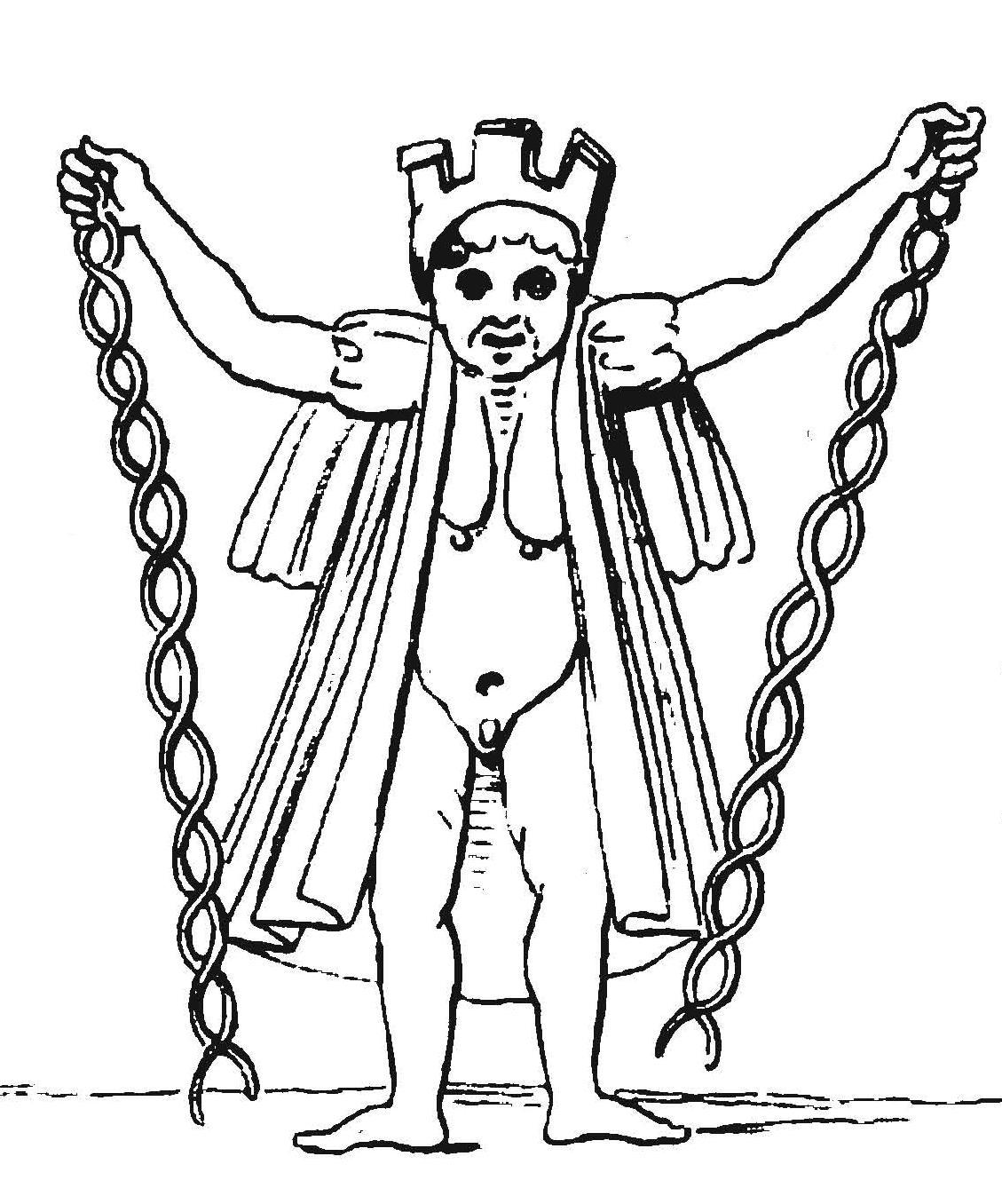 Mysterium Baphometis Von Hammer 2 Bas reliefs énigmatiques