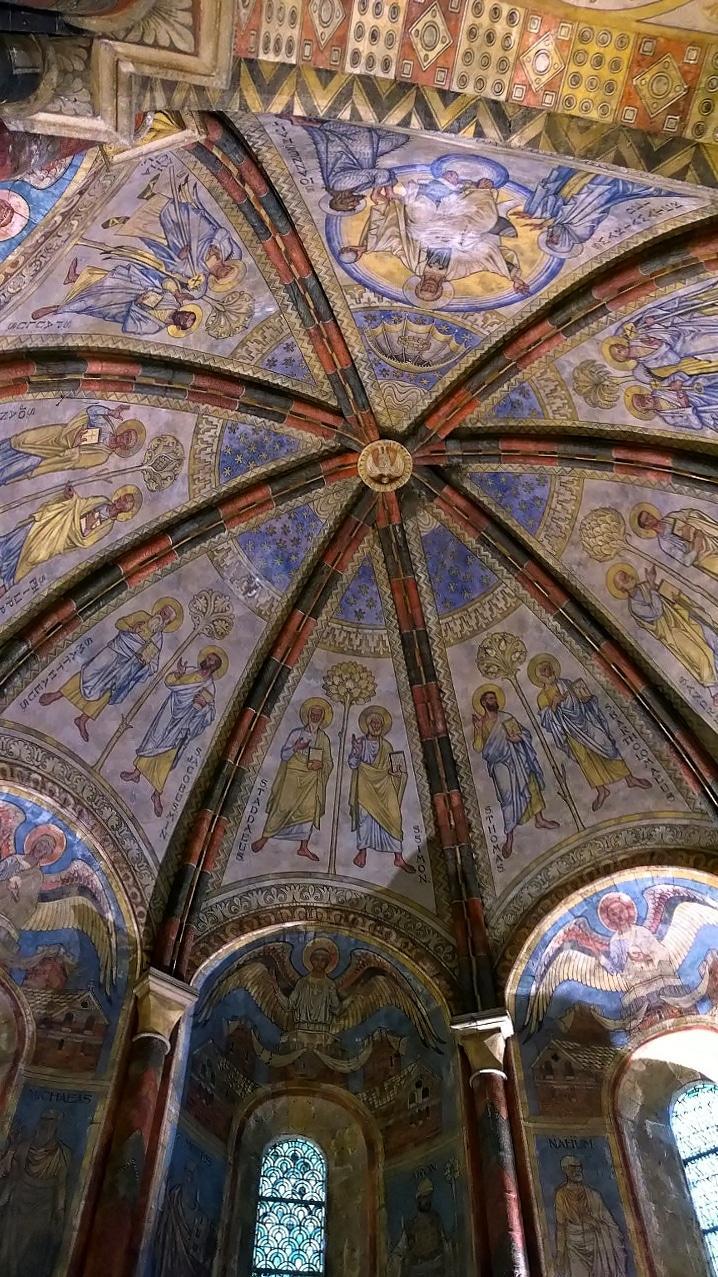 Intérieur de la Chapelle templière de Metz