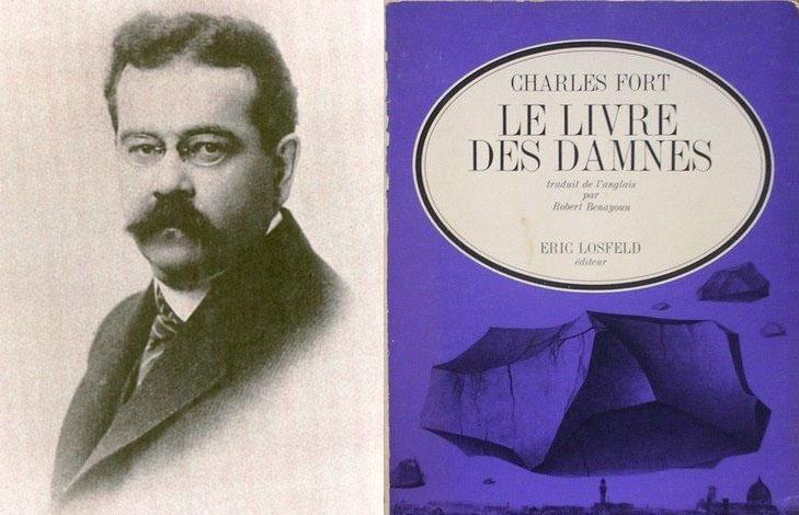 Charles Hoy Fort, dit Charles Fort (1874-1932) & la seconde édition française du Livre des damnés, éditions Éric Losfeld, 1967.