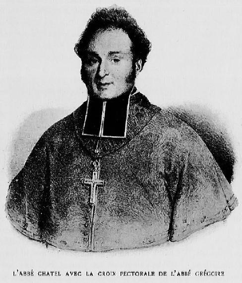L'Abbé Chatel avec la croix pectorale de l'Abbé Grégoire