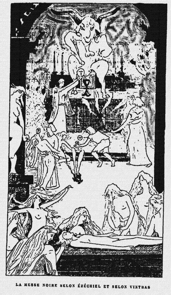Une Messe Noire chez les adorateurs du Prince des Ténèbres