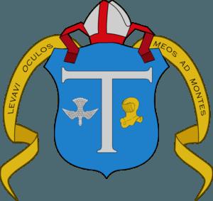 Blason épiscopal gnostique de Doinel dressé par Tau Héliogabale