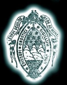 Sceau d'évêque gnostique de Doinel