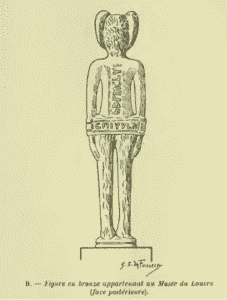 Deux figures baphométiques