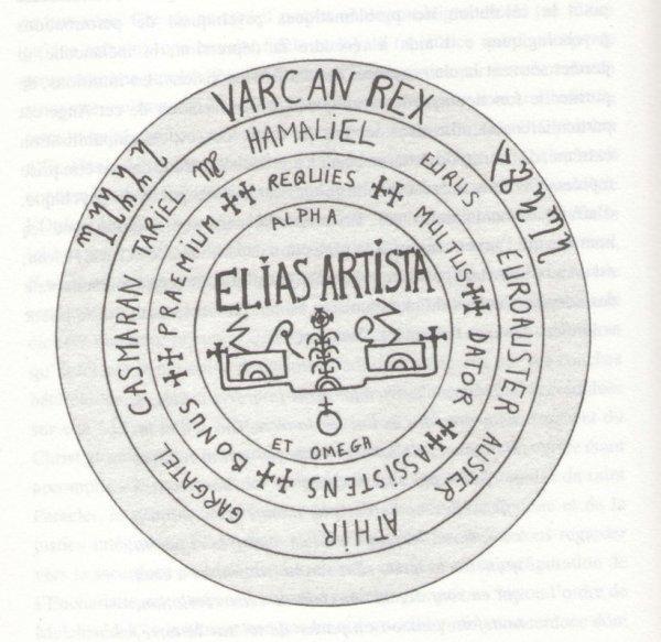 Quelques notes sur un sceau EzoOccult