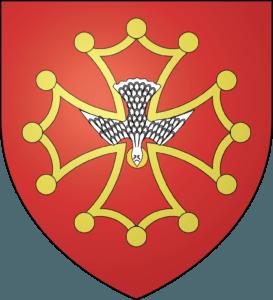 Blason Ordre Saint des chevaliers faydits de la colombe du paraclet