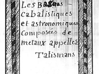 Bagues Cabalistiques titre