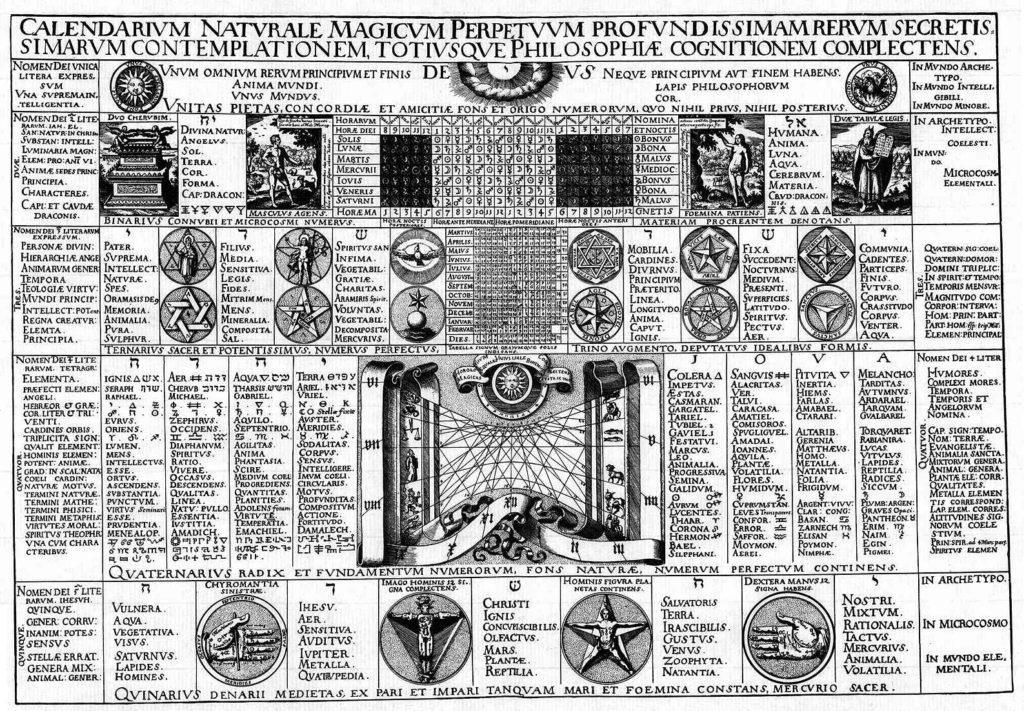 Calendarium Naturale Magicum Perpetuum 1